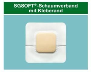 SGSOFT Schaumverband mit Kleberand